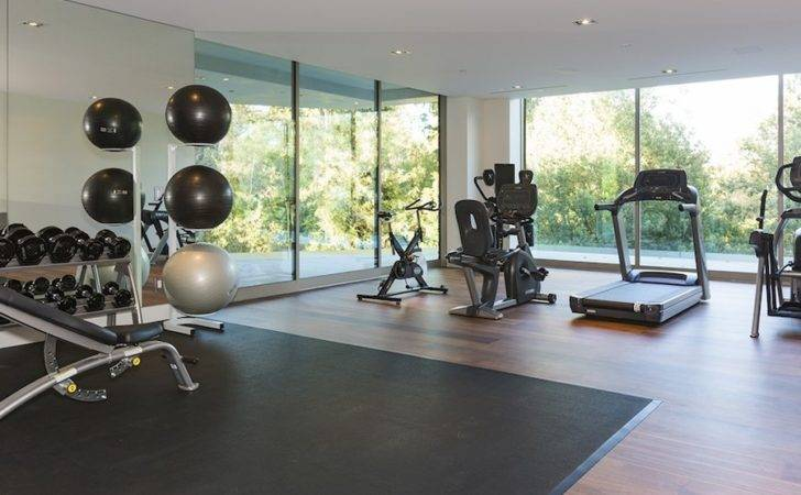 Small Villa Furthermore Home Gym Design House Plans