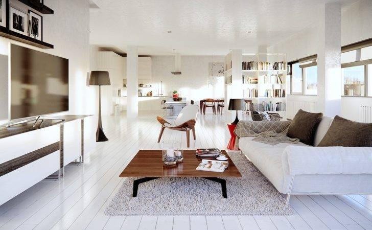 Small White Loft