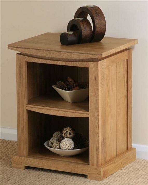 Small Wooden Bedside Table Design Ideas