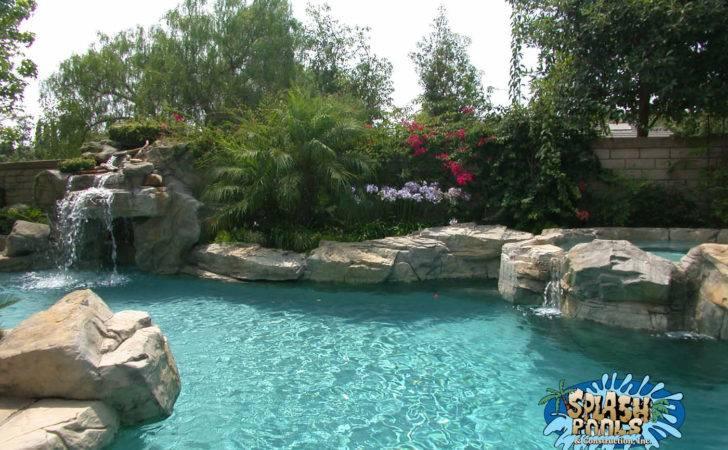 Small Yard Pool Options Splash Pools Construction