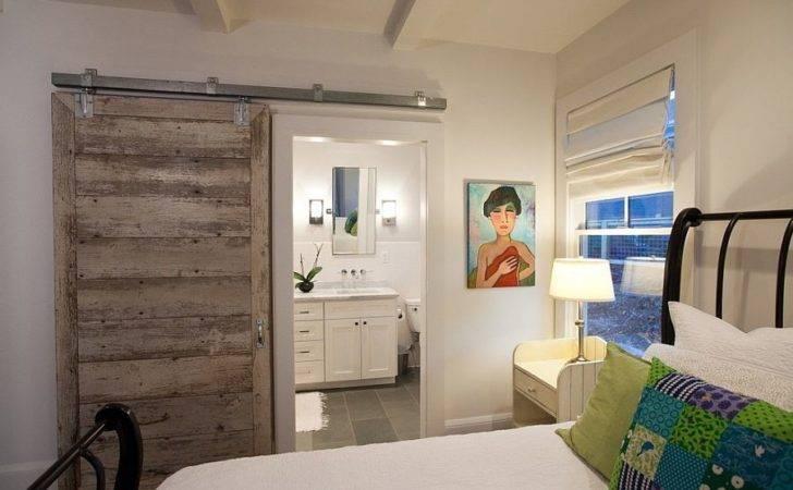 Smart Barn Door Saves Space Small Bedroom Decoist