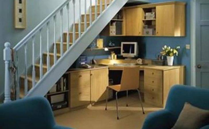 Smart Under Stairs Home Office Designs Rilane