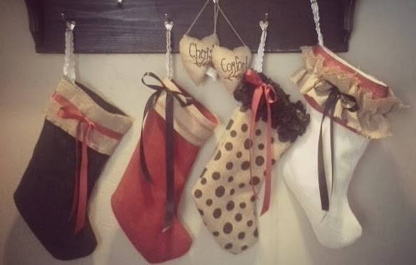 Snippets Creations Stockings Were Hung