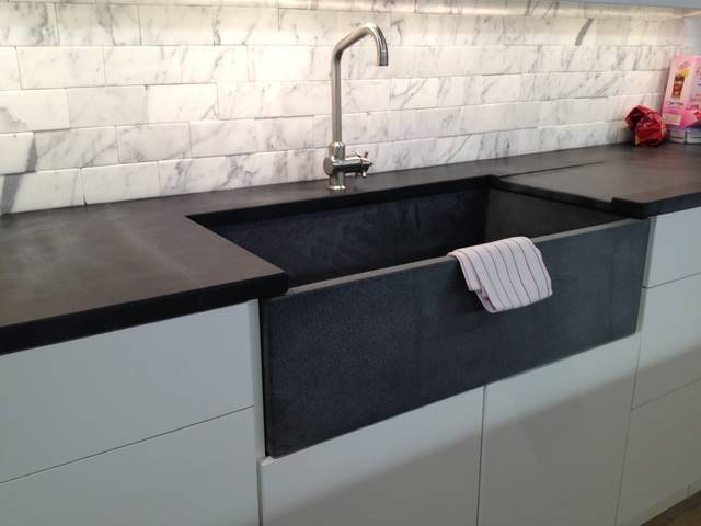 Soapstone Kitchen Sink Countertop Chelsea Contemporary