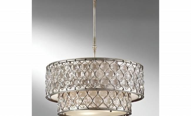 Soapstone Light Drum Chandelier Advice Your Home Decoration