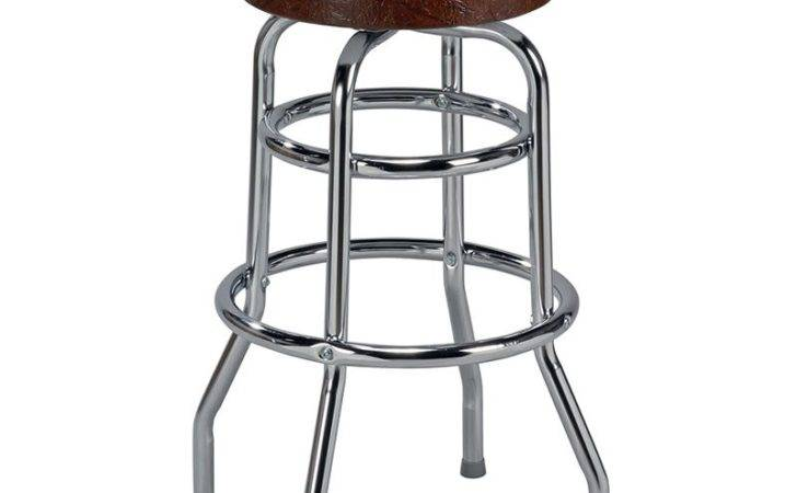 Soda Fountain Retro Metal Backless Counter Stool Bar Stools