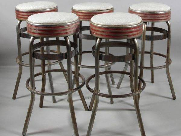 Soda Fountain Stools Lot