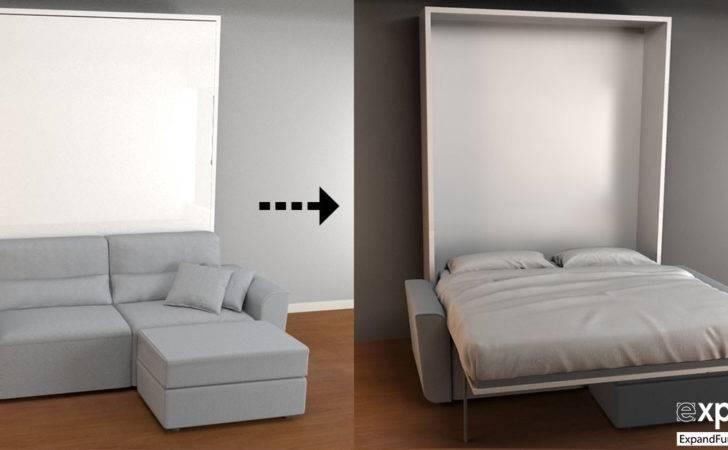 Sofa Wall Bed Combo Murphysofa Minima Murphy