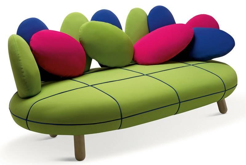Sofas Unique Modern Sofa Design Green Bright Colored