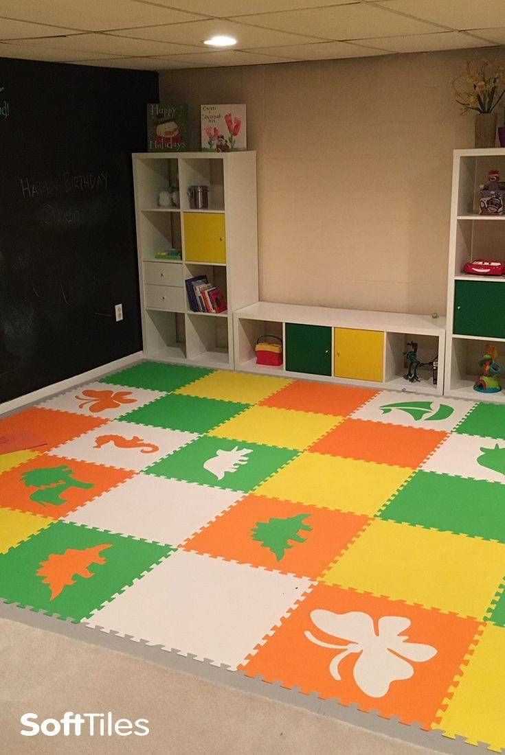 Soft Floor Covering Playroom