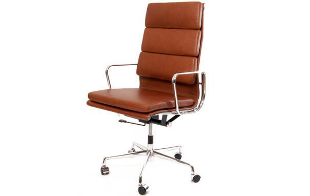 Soft Pad High Back Executive Office Chair Designer Chairs