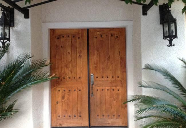 Solano Front Doors Mediterranean Style Home Plan