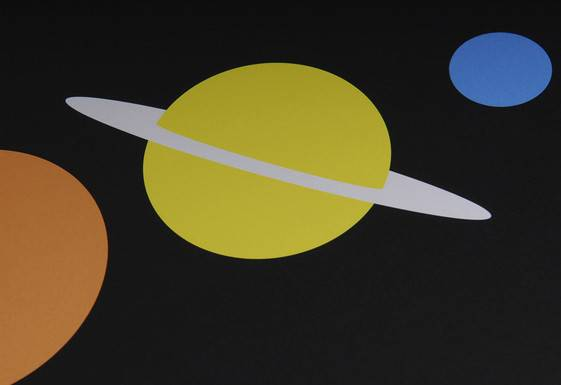 Solar System Poster Designed Atomic Printworks Twentytwentyone