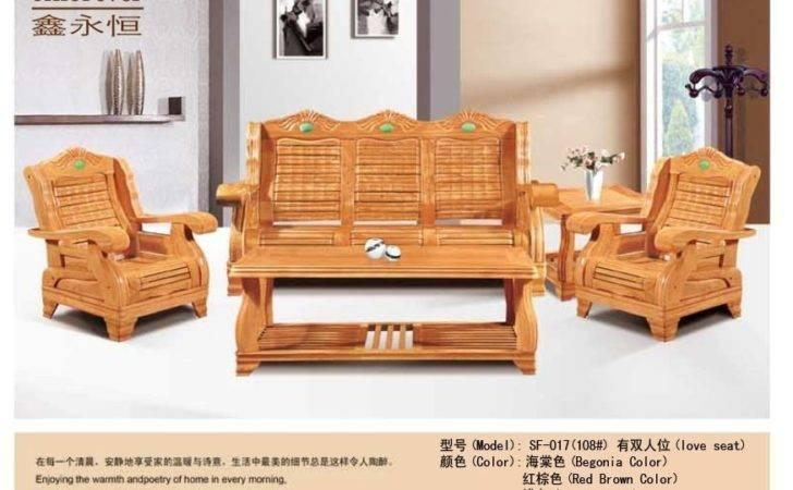Solid Wood Furniture Sofa