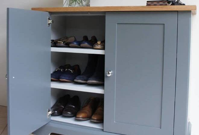 Solid Wood Shoe Storage Cabinets Ideas