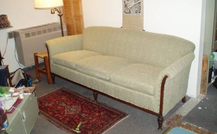 Sort Sewing Reupholstered Couch Furniture Pinterest