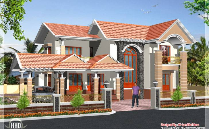South Indian Storey House Home Appliance