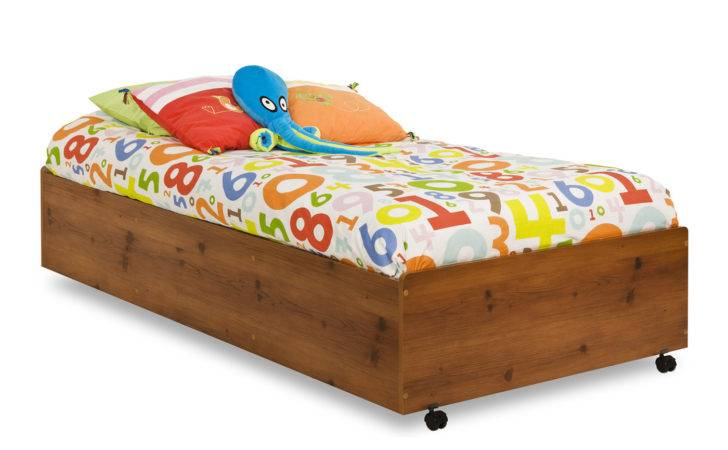 South Shore Furniture Logik Twin Caster Bed Atg Stores