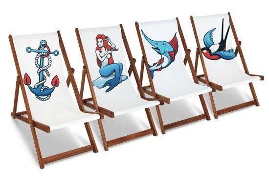 Southsea Deckchair Caxton Rhode Set Four