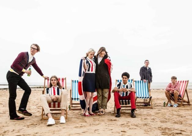 Southsea Deckchairs Help Give Fred Perry Some Seaside Style