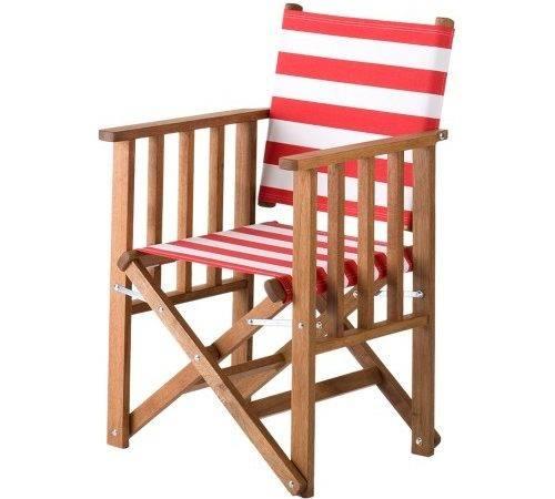 Southsea Deckchairs Tennis Chair Printed Cotton