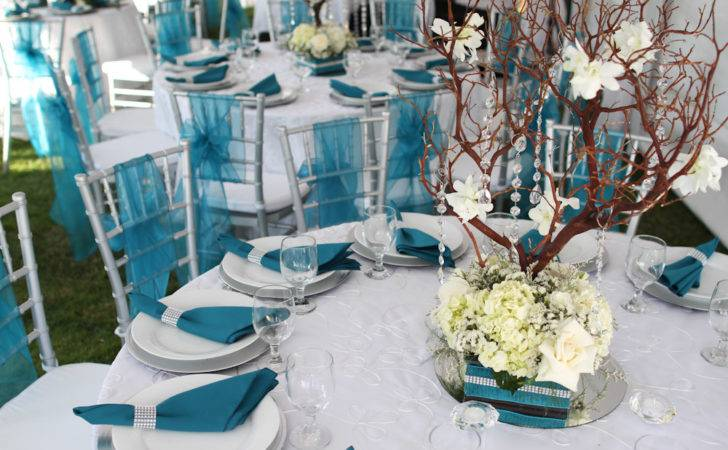 Southwestern Silver Turquoise Wedding Soiree Party