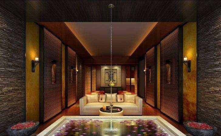 Spa Interior Design Rendering House