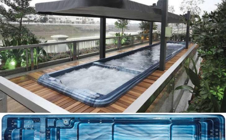 Spa Product Fiberglass Swimming Pool Massage Hot Tub Combo