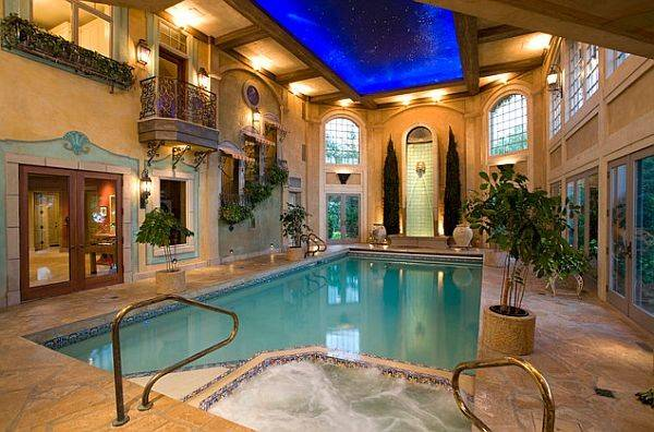 Spa Room Design Idea Beautiful Indoor Swimming Pool Like