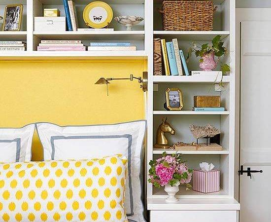 Space Around Head Your Bed Great Place Store Books