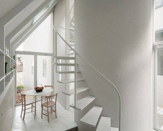 Space Saving Modern Spiral Staircases Remodelista