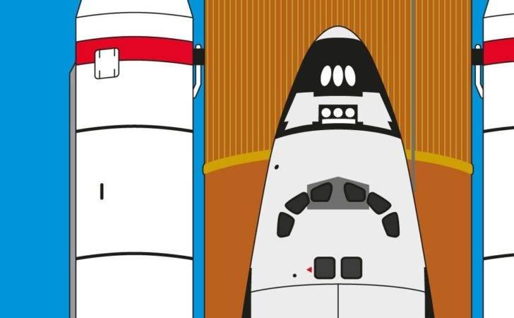 Space Shuttle Print Atomic Printworks