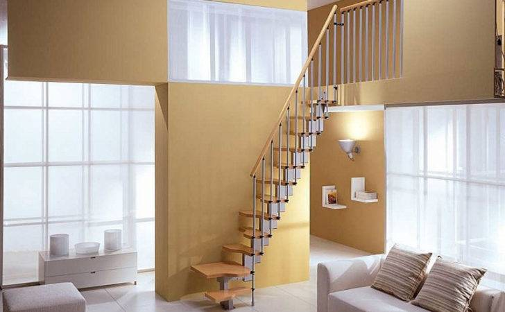 Space Staircase More Compact Staircases Attic Small Spaces