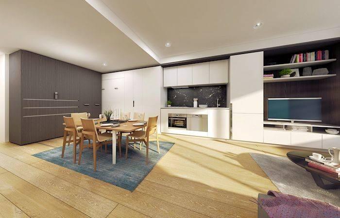 Spaces Next Innovation Apartment Living Urban Melbourne