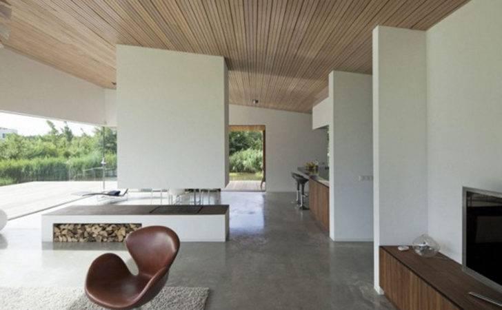 Spacious Space Contemporary Modern Villa Interior Design