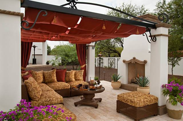 Spanish Colonial Remodel Mediterranean Patio Phoenix
