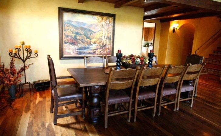 Spanish Dining Room Style Home Demejico