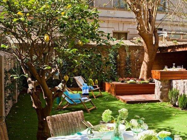 Spanish Homes Backyard Designs Patio Ideas