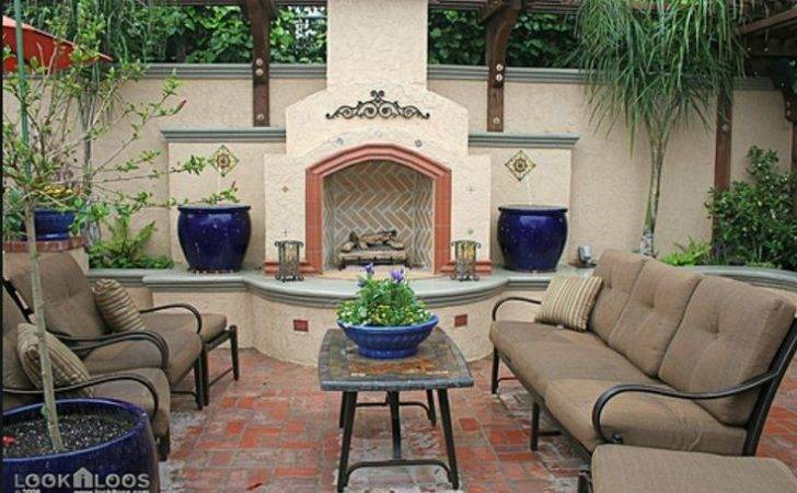 Spanish Style Backyard Patio Gardening Ideas Pinterest