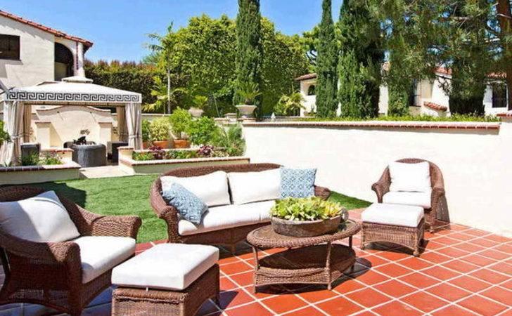 Spanish Style Luxury Homes Patio