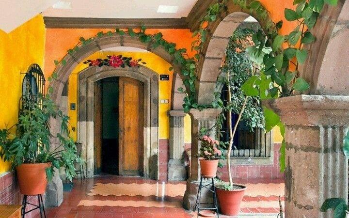 Spanish Style Patio Inspiration Pinterest