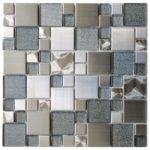 Sparkling Mosaic Tile Wall Decoration Surfaces Effect