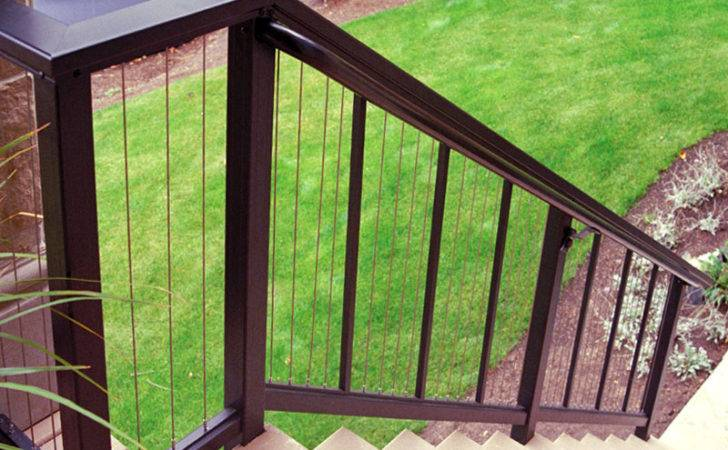 Special Ideas Vertical Cable Railing Stairs