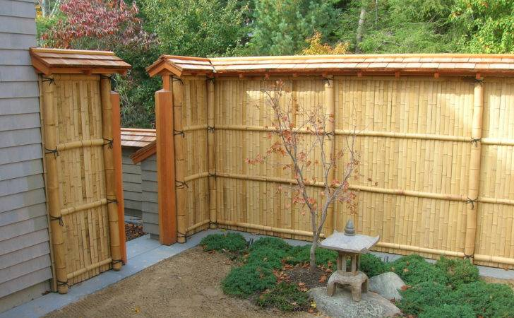 Special Inspiration Chic Garden Bamboo Fence Decosee
