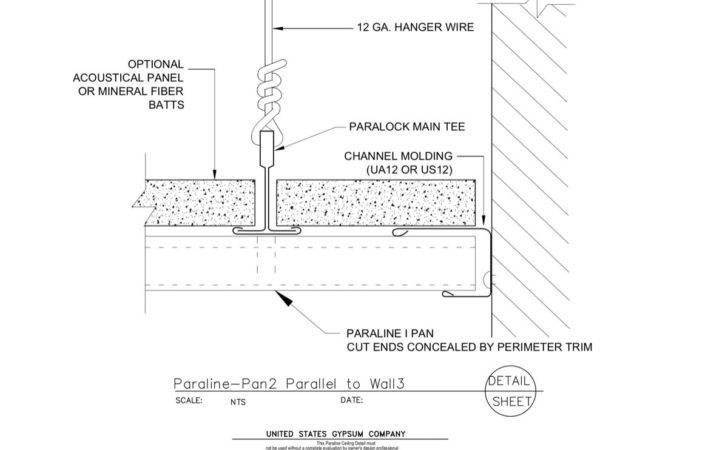 Specialty Ceilings Paraline Pan Perpendicular