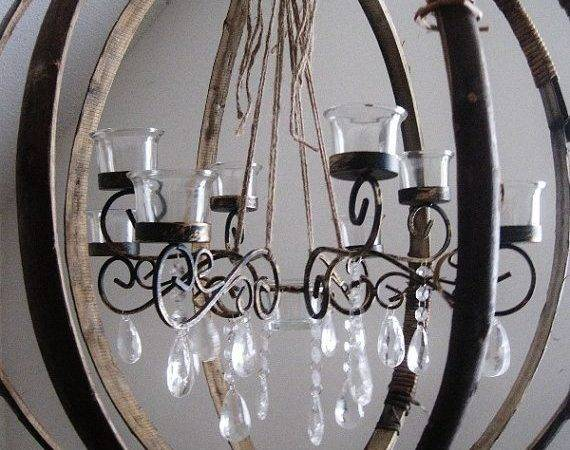 Sphere Shabulous Wine Chandelier Crossover Collection