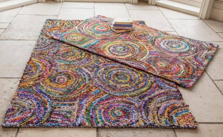Spiral Recycled Cotton Rug Myakka
