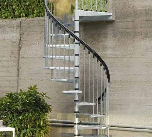Spiral Staircase Civik Zink