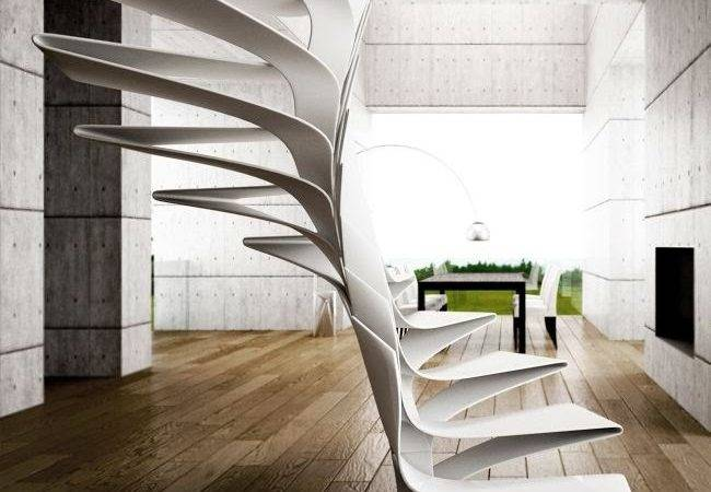 Spiral Staircase Design Fiberglass Stairs