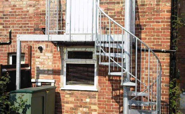 Spiral Staircase London External Staircases